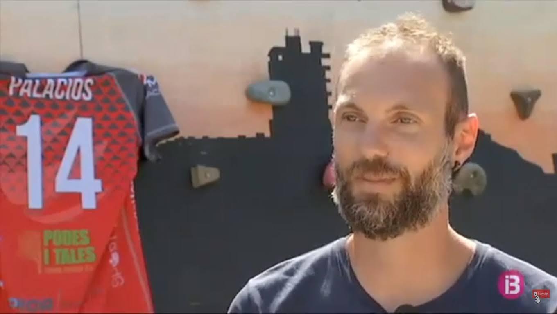 IB3. Pedro Palacios jugador del Conectabalear CV Manacor diu adéu al vòlei
