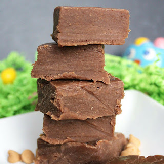 Nutella Peanut Butter Fudge