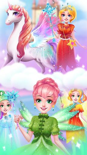 ud83dudc78Rainbow Princess & Unicorn Makeup - Fashion Trip 1.5.5009 screenshots 16