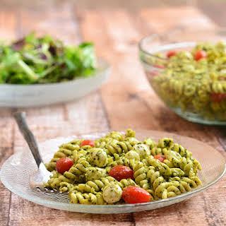 Pesto And Mozzarella Pasta Recipes.