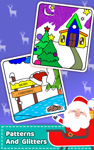 Christmas Coloring Book & Games for kids & family 1.5 screenshots 6