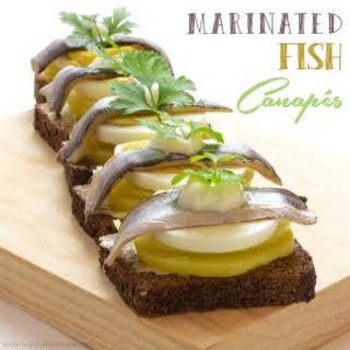 Fish Canapes Recipes.