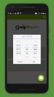 DailyMealz - náhled