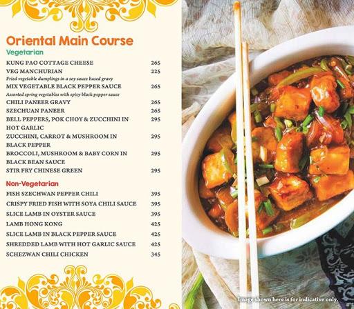 Masala Asia menu 5