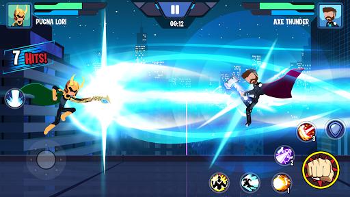 Stickman Superhero - Super Stick Heroes Fight screenshots 2