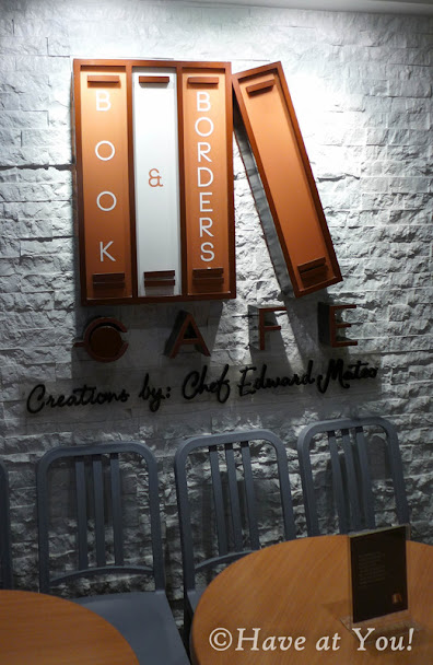 books and borders cafe logo