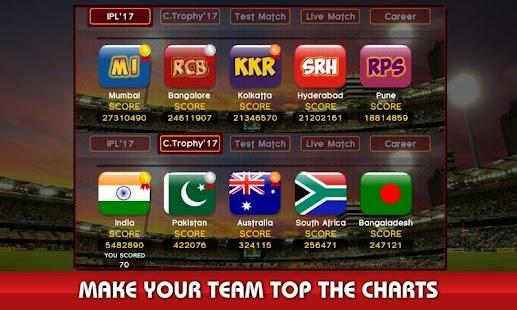 World Cricket I.P.L T20 Live 2018 - náhled