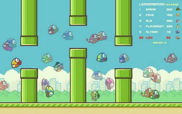 Flaap Bird.io Game