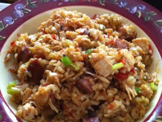 Shut The Fffront Door - Sausage Chicken Jambalaya Recipe