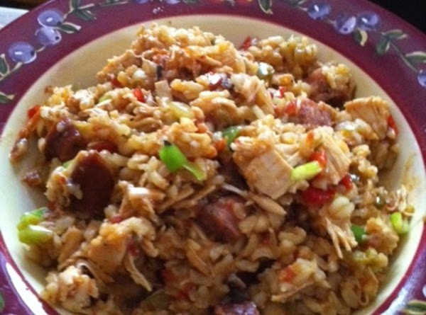Shut The Fffront Door - Sausage Chicken Jambalaya Recipe