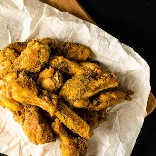 Brown Sugar Curry Chicken Wings.