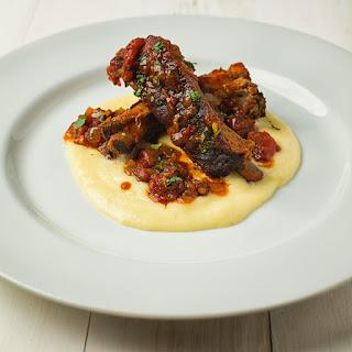 Mexican Pork Ribs with Creamy Cheese Grits Recipe