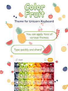 Color Fruit Free Keyboard Theme – Apps on Google Play
