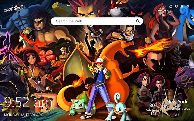 Pokemon GO HD Wallpapers New Tab Theme
