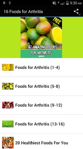 16 Foods for Arthritis