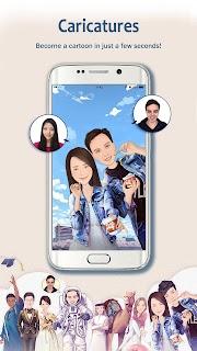 MomentCam Cartoons & Stickers screenshot 10