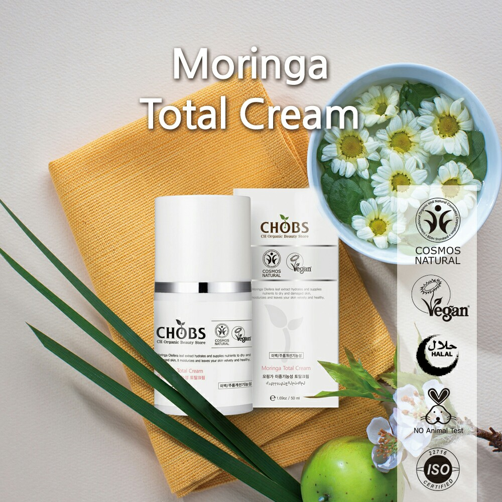 (CHOBS) Moringa Total Cream 辣木美白抗皺霜