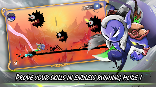 Stickman Revenge: Shadow Run - screenshot