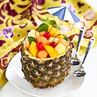 Pineapple Fruit Bowl