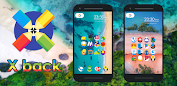 X Back - Icon Pack Apps (apk) gratis te downloaden voor Android/PC/Windows screenshot