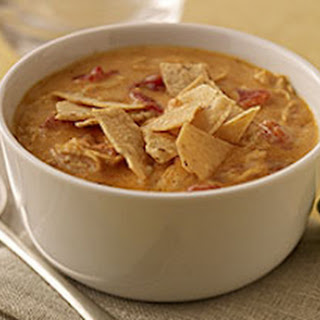 Cheesy Tortilla Soup.