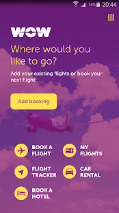 WOW air- screenshot thumbnail