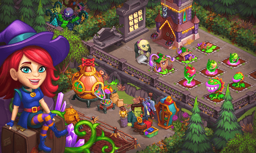 Monster Farm: Happy Ghost Village & Witch Mansion screenshots 14