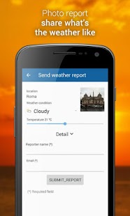 3B Meteo - Weather Forecasts- screenshot thumbnail