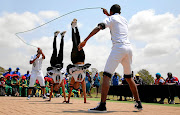KZN twins Thabile and Thabisile Jama got the judges' attention during the games.