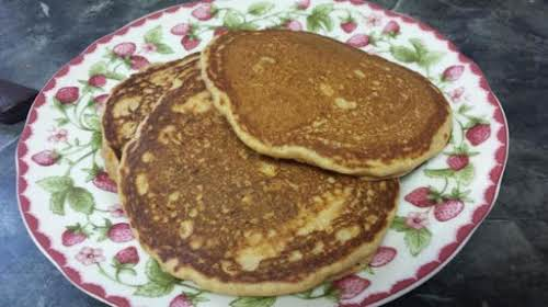 "Sweet Potato Pancakes""Made these this morning for breakfast they were very good,..."