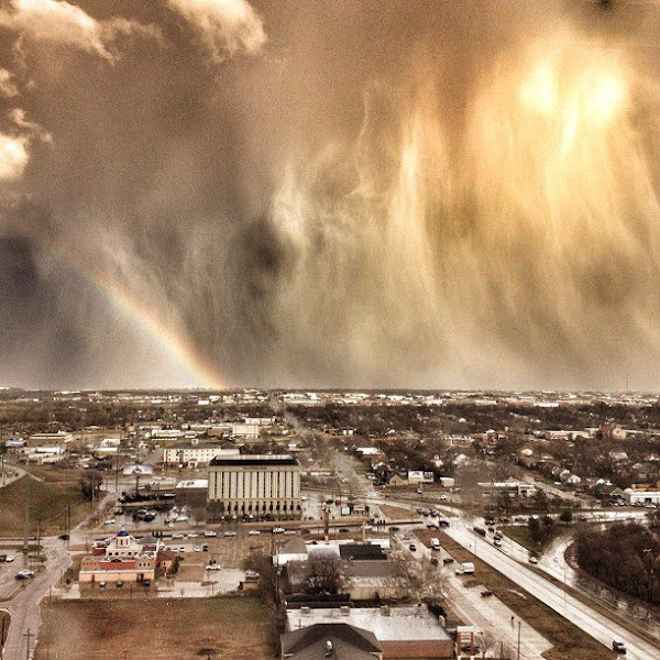 "Photo: ""Oklahoma has some of the craziest weather."" - Blake K. Brown  See all the photos from Mashable's Weather Photo Challenge: http://on.mash.to/KpPiNv"