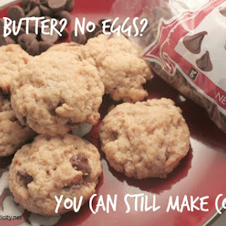No Butter? No Eggs? You Can Still Make Cookies!