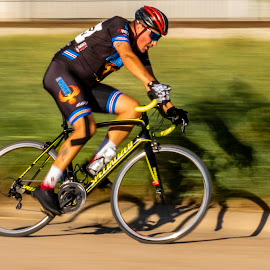 Crit racer by Bert Templeton - Sports & Fitness Cycling ( mckinney, crit, criterium, cycling, texas )
