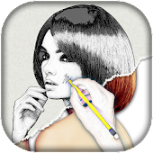 Pencil Sketch Photo Art Filter