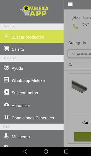 Melexa App screenshot 1