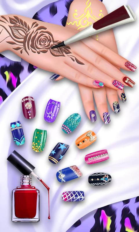 Nail henna beauty spa salon android apps on google play for A creative touch beauty salon