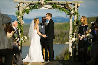 Photo: June Wedding- Woodsie- ceremony site Dana Romanoff Photography Chuppa built by C Lazy U Ranch