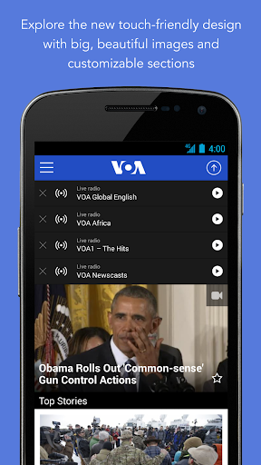 VOA News 3.3.1 screenshots 1
