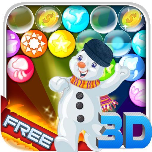 Snowman Bubble Shooter