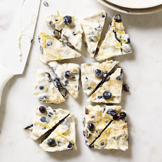 Blueberry Cheesecake-Yogurt Bark.