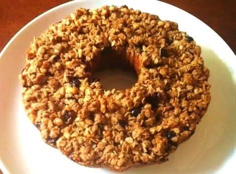 Easy Blueberry Peach Crisp Coffee Cake Recipe