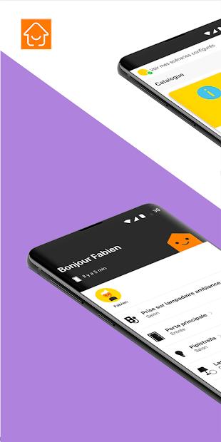 Maison Connectée d'Orange Android App Screenshot