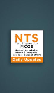 Download nts mcqs questions 2019 For PC Windows and Mac apk screenshot 5
