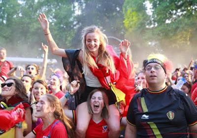 ? La folie s'empare de la Belgique après la qualification pour les demi-finales du Mondial