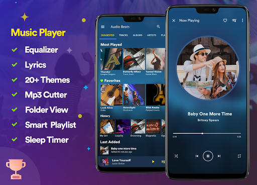 Music Player - Mp3 Player v3.6 screenshots 1