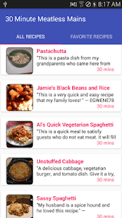 30 minute meatless mainsfree recipe app android apps on google play 30 minute meatless mainsfree recipe app screenshot thumbnail forumfinder Gallery