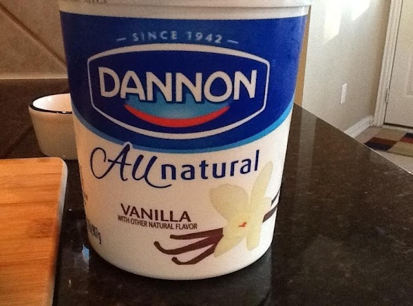 After the fruits, add in the yogurt and banana to smooth things out and...