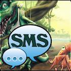 Dino Theme GO SMS Pro icon