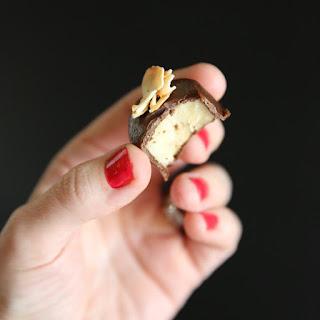 Frozen Chocolate-PB-Banana Bites