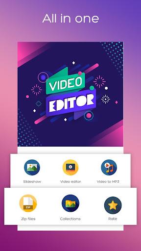 Video Editor, Photo SlideShow u2013 Movie Music Maker 1.0 screenshots 1